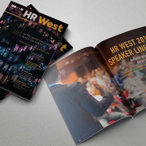 HR West Magazine Printing